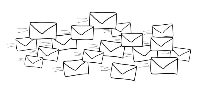 Brief, E-Mail, senden